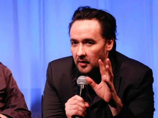 NEW YORK, NY - JUNE 04: Oren Moverman (L) and John Cusack attend Official Academy Screening of 'Love & Mercy' hosted by The Academy of Motion Picture Arts and Sciences at The Academy Theatre at Lighthouse International on June 4, 2015 in New York City. (Photo by Rob Kim/Getty Images …