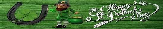 PCP Happy St. Patrick's Day Banner