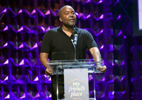 Honoree Lee Daniels speaks onstage at Ending Youth Homelessness: A Benefit for My Friend's Place at Hollywood Palladium on April 06, 2019 in Los Angeles, California. (Photo by Vivien Killilea/Getty Images for My Friend's Place)